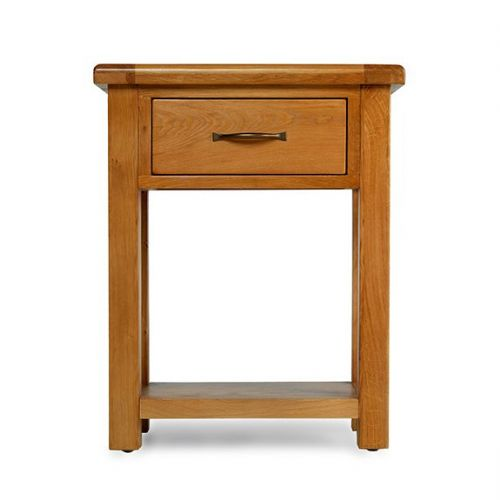 Bradley Oak Small Hall Table